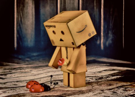 Danbo, Good Luck, Lucky Ladybug, Cute, Funny, Ladybug