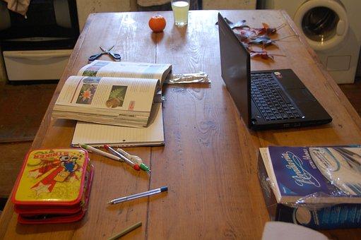 School, Tasks, School Supplies, Homework, Learn, Pencil