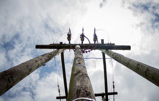 Powerline, Electricity, Pylon, Wire, Electric, Power