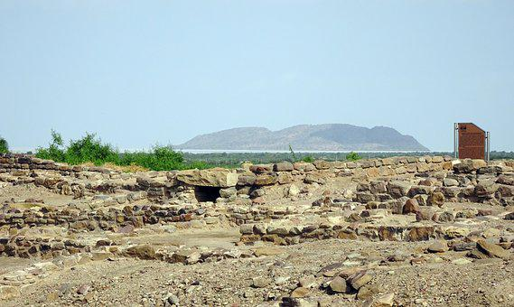 Dholavira, Archaeological Site, Excavation, Structures