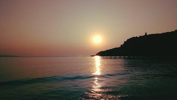 The Black Sea, Sunrise, Chill, Summer, Romantic