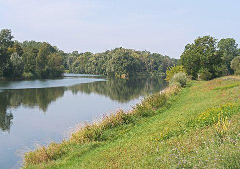 Lech Mouth, Danube On The Right, The Danube Ried