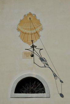 Sundial, Summer, Time, Timepiece, Sun, Shadow, Light