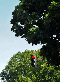 Traffic Lights, Traffic Control, Red, Junction, Hanau