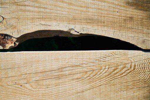 Wood-fibre Boards, Wood, Brown, Macro, Background