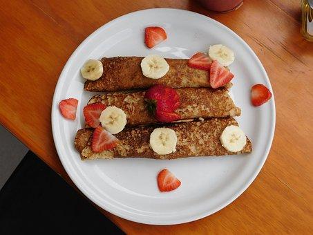 Breakfast, Banana, Food, Fresh, Bananas, Fruit, Healthy