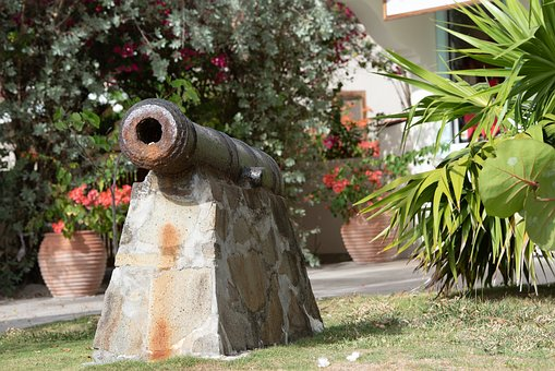 Cannon, Fort, Big Gun, Protect, Protection, Defense