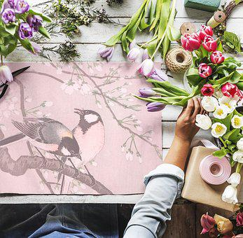 Arrangement, Art, Blank, Business, Copy Space, Craft