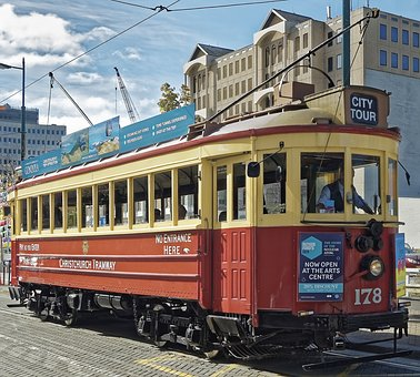Tram, Christchurch, Historically, Downtown, Tourism