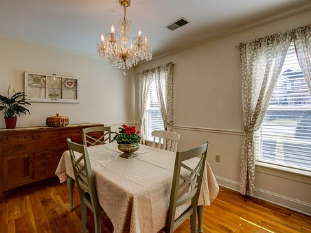 Interior, Dining Room, House, Home