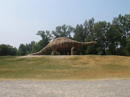 Brontosaurus, Prehistoric, Dinosaur, Nature, Prehistory