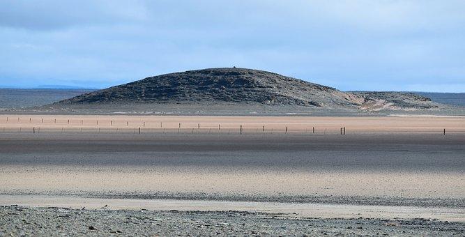 Landscape, Arid, Playa, Dry, Empty, Karoo, South Africa