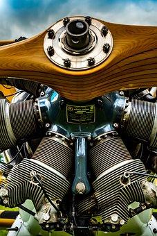 Propeller, Antique, Aviation, Aircraft, Classic, Engine