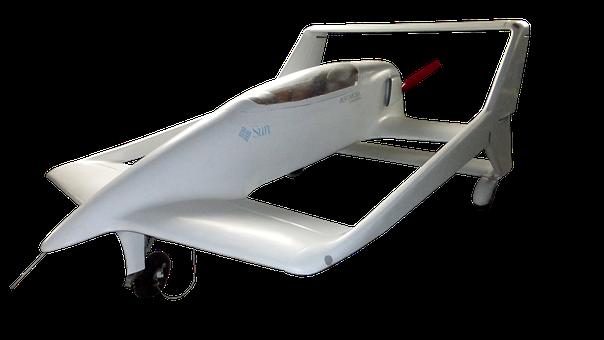 Aircraft, Prototype, Experimental, Propeller, White