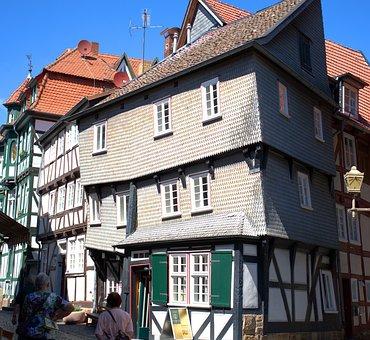 Fachwerkhaus, House, Truss, Fritzlar, Historic Center