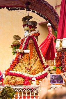 Jaipur, Teej, Festival, God, India, Hindu, Royal, Fest
