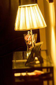 Lamp, Entrance, House, Lamps, Light