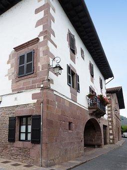 House, Manor House, Hamlet, Mansion, Navarre