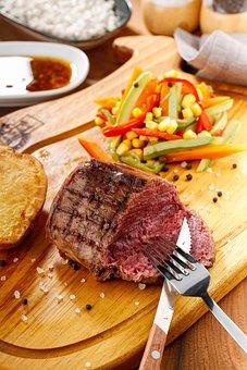 Food, Steak, Meat, Soup, Beef, Bbq, Eat, Menu, Cook