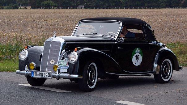 Mercedes Benz 220 Cabriolet, Oldtimer, Auto, Classic