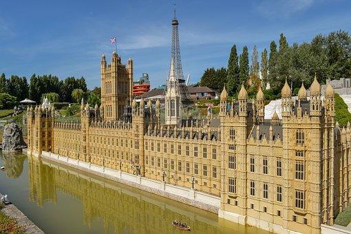 Mini Europe, Miniature Park, Architecture