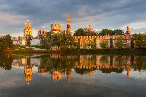 Moscow, Russia, Monastery, Novodevichy, History