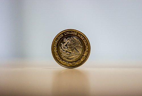 Coin, Money, Economy, Mexico, Circle