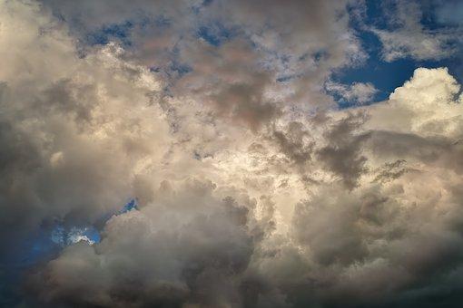Clouds, Sky, Blue, Landscape, Mood, Weather, Summer