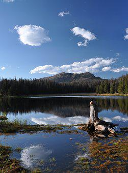 Lake, Mountain, Reflection, Nature, Mountains, Water