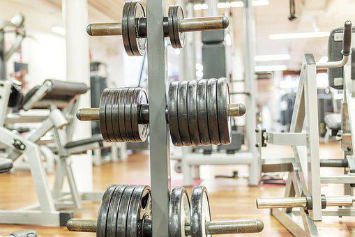 Dumbbells, Weight Plates, Gym, Muscle Training