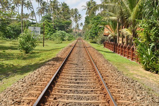 Railway, Train, Railways, Railway Line, Rail, Steel