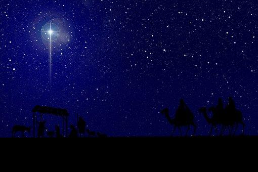 Nativity, Star, Manger, Christmas, Crib, Jesus