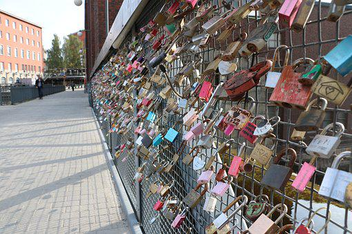 Love, Lock, Commitment, The Romantic, Bridge