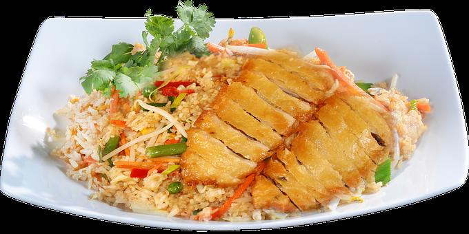 Vietnamese, Asian, Fried, Rice