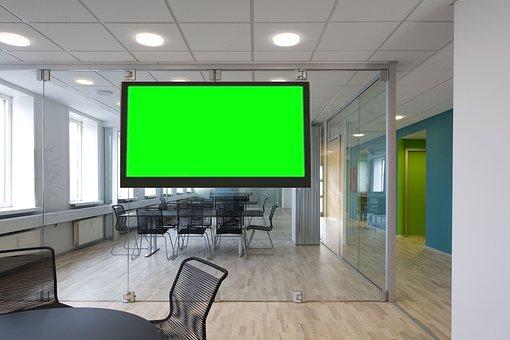 Office, Virtual Set, Green Screen