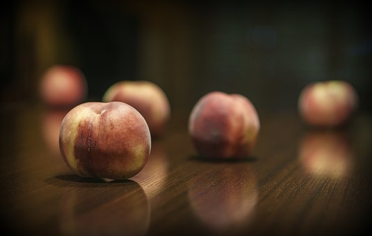 Peach, Fruit, Healthy, Vitamins, Mature, Food, Summer