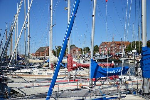 Marina, Port, Baltic Sea, Sailing Boat, Yacht