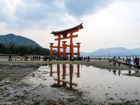 巖 Island, Shrine, Itsukushima Shinto Shrine