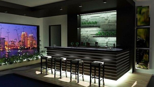 Render, 3d, Arch Viz, Design, Modern, Room, Home