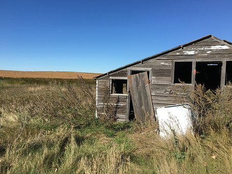 Chicken Coop, Farm, Pioneer, Settlers, Abandon