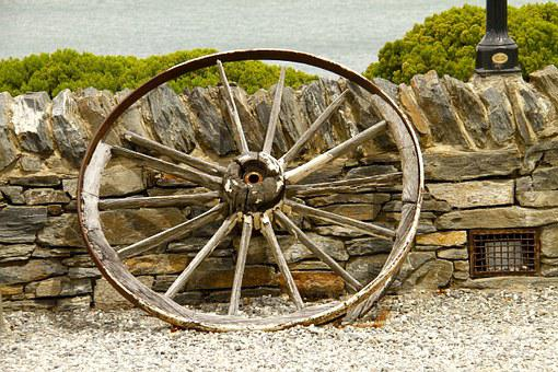 Wheel, Wagon, Heritage, Old, Rust, Antique, Brown