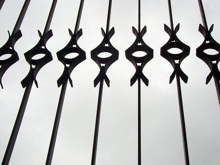 Bars, Grey, Iron, Concept, Prison, Freedom