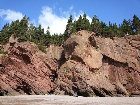 Hopewell, Rocks, Nature, Brunswick, Fundy, Tide, Bay