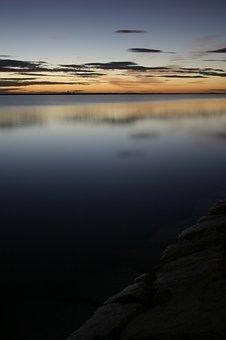 Lower Mar, Murcia, Dawn, Sea, Sky, Beach