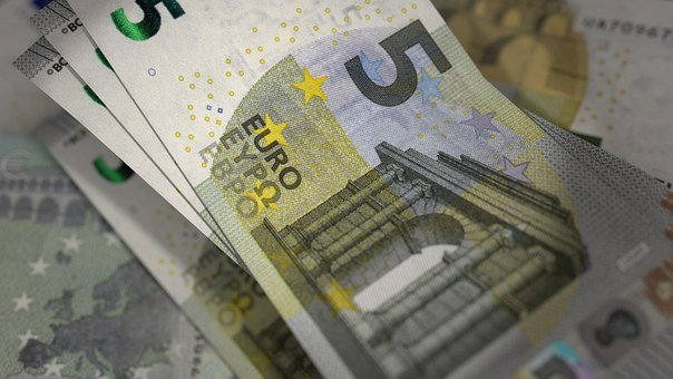 Euro, Banknotes, Currency, Bill, Cash, 5 Euro Notes