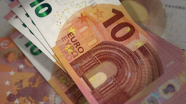 Euro, Banknotes, Currency, Bill, Cash, 10 Euro Notes
