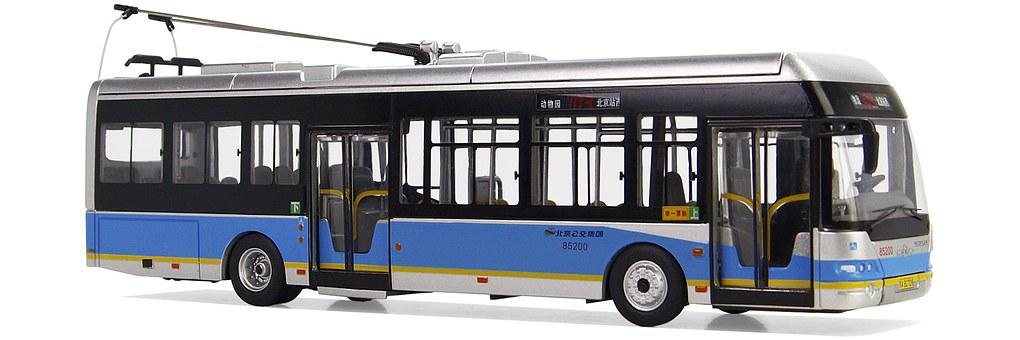 Neoplan, Centroliner, Trolley Bus, Electric Motor