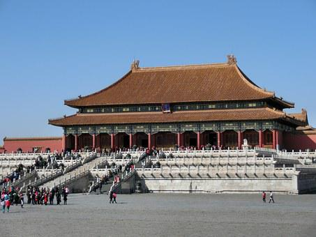 China, Beijing, Forbidden City, Asia, Emperor, Stairs