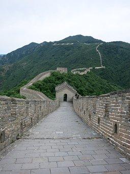 Great Wall Of China, China Wall, Mutianyu, Beijing