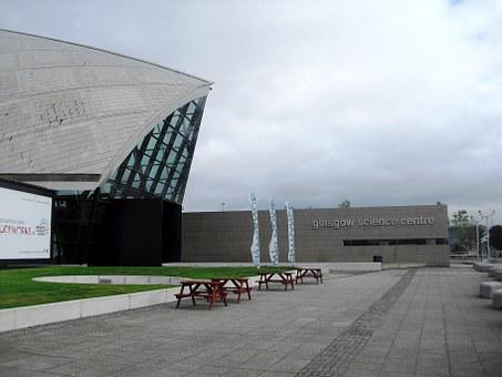 Glasgow, Science Centre, Clyde
